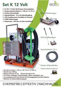 Wildkrautvernichtung set-k-12-volt